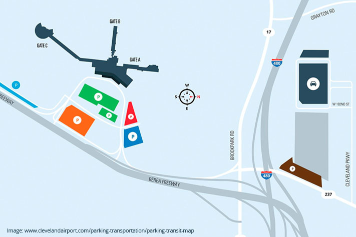 CLEVELAND HOPKINS AIRPORT TAXIWAY Q & HOLD PAD